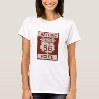 Camiseta Rota sessenta e seis do albatroz