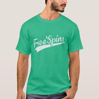 Camiseta Rotações livres da equipe - roteiro do basebol