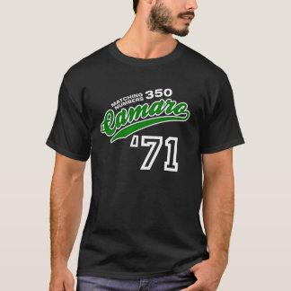 Camiseta Roteiro 1971 de Camaro 350