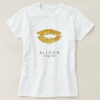 Camiseta Roteiro conhecido dos lábios do ouro do