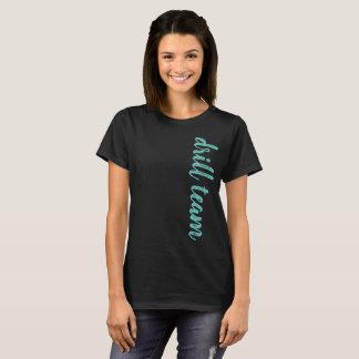Camiseta Roteiro da equipe de broca personalizado