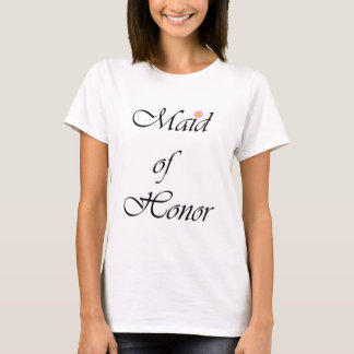 Camiseta Roteiro do ~ da madrinha de casamento