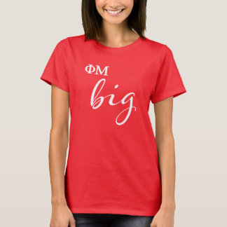 Camiseta Roteiro grande da MU da phi