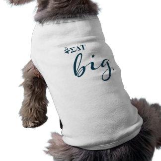 Camiseta Roteiro grande da tau | do delta do Sigma
