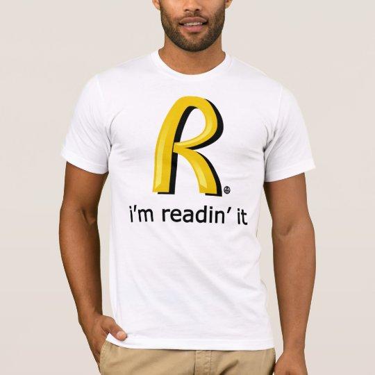 Camiseta Rothbard McDonald's - I'm readin' it