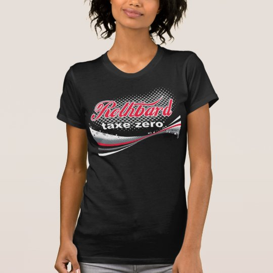 Camiseta Rothbard Taxe Zero