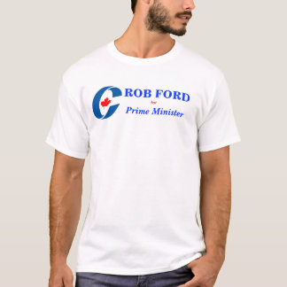 Camiseta Roubo Ford para o primeiro ministro