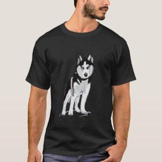 Camiseta Rouco preto e branco