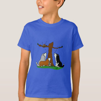 Camiseta Roucos que cantam aos pássaros