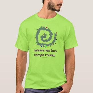 Camiseta Roulez dos temps do bon dos les de Laissez!