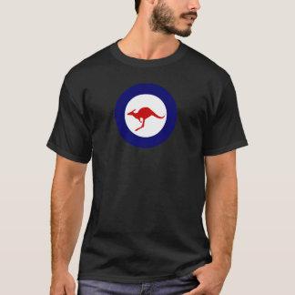Camiseta Roundel militar da aviação do canguru de Austrália