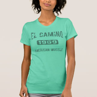 Camiseta Roupa 1969 do EL Camino