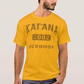 Camiseta Roupa 2002 de Katana GSX600F