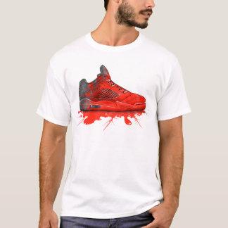 Camiseta Roupa 2016 retro de Jordão do ar (vermelho