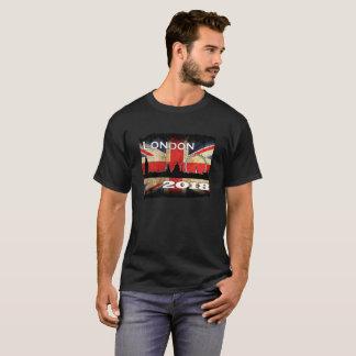 Camiseta Roupa 2018 de Londres dos homens