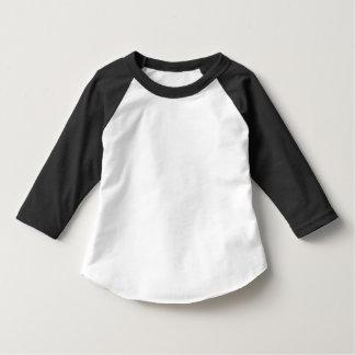 Camiseta Roupa americano da criança 3/4 de t-shirt do