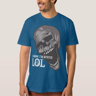 Camiseta Roupa americano feito-à-medida: CRÂNIO DE LOL