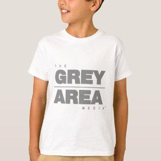 Camiseta Roupa área cinzenta \ cinzenta