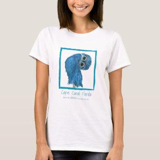 Camiseta Roupa Burrowing coral da coruja do cabo