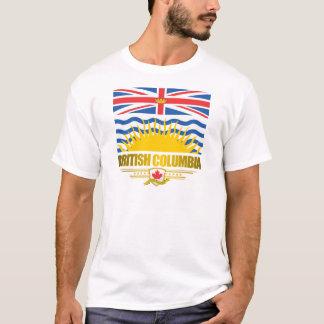 Camiseta Roupa da bandeira do Columbia Britânica