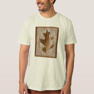 Camiseta Roupa da folha do carvalho