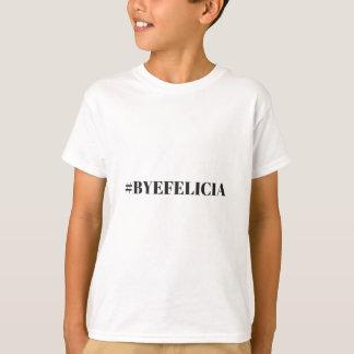 Camiseta Roupa da ilustração do humor de Felicia do adeus