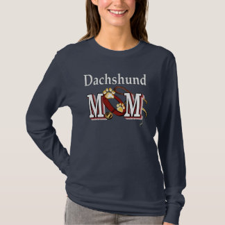 Camiseta Roupa da mamã do Dachshund