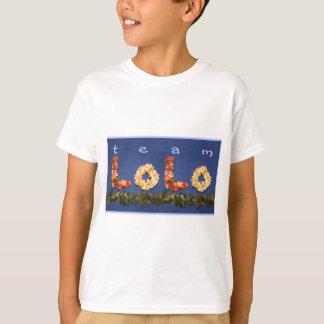 Camiseta Roupa de Lolo da equipe