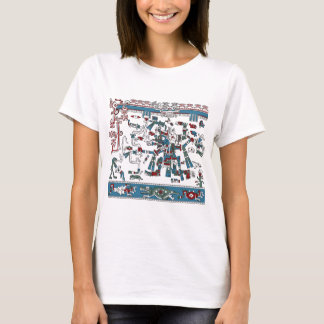 Camiseta Roupa de Tlaloc