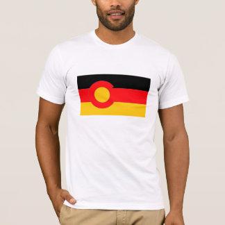 Camiseta Roupa do americano do T de Colorado do alemão