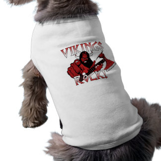 Camiseta Roupa do animal de estimação da rocha de