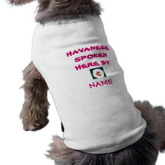 Camiseta Roupa do animal de estimação do animal de estimaçã