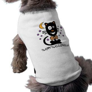 Camiseta Roupa do animal de estimação do gatinho do Dia das