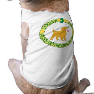 Camiseta Roupa do animal de estimação do golden retriever d