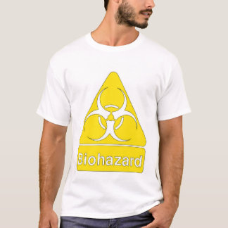 Camiseta roupa do biohazard