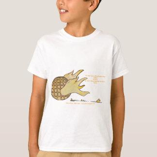 Camiseta Roupa do caráter dos miúdos do cozinheiro chefe