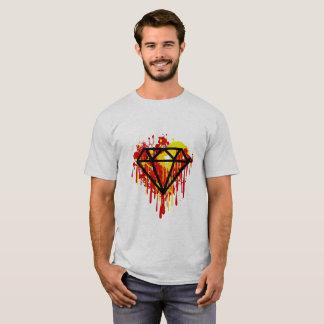 Camiseta Roupa do design geométrico