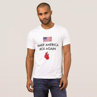 Camiseta Roupa do encaixotamento
