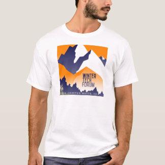 Camiseta Roupa do Fest da tecnologia do inverno