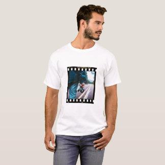 Camiseta Roupa do filme de cor da foto do solteiro de