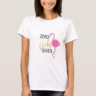 Camiseta Roupa do flamingo