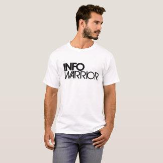 Camiseta Roupa do guerreiro da informação