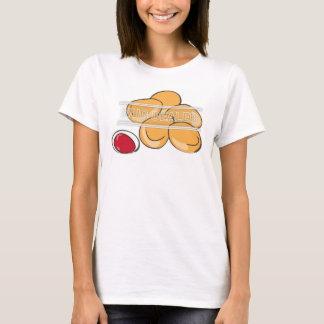 Camiseta Roupa do negociante de Nug humor engraçado/comida