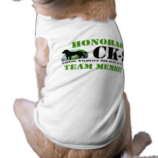 Camiseta Roupa engraçada do cão dos caninos da conservação