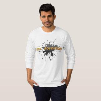 Camiseta Roupa épico da aventura