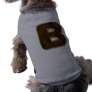 Camiseta Roupa feita sob encomenda grande do animal de