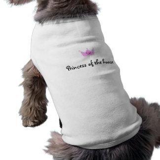 Camiseta Roupa Loving do animal de estimação (príncipe Addo