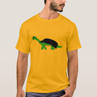 Camiseta Roupa mascarado do Apatosaurus de Caped