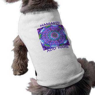 Camiseta Roupa nova do animal de estimação do animal de est