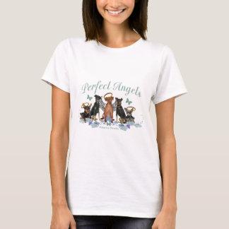 Camiseta Roupa perfeito do anjo do Pinscher diminuto